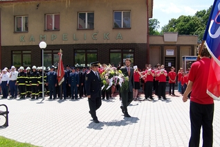 130 years of local fire brigade and Sokol – 23. 6. 2012